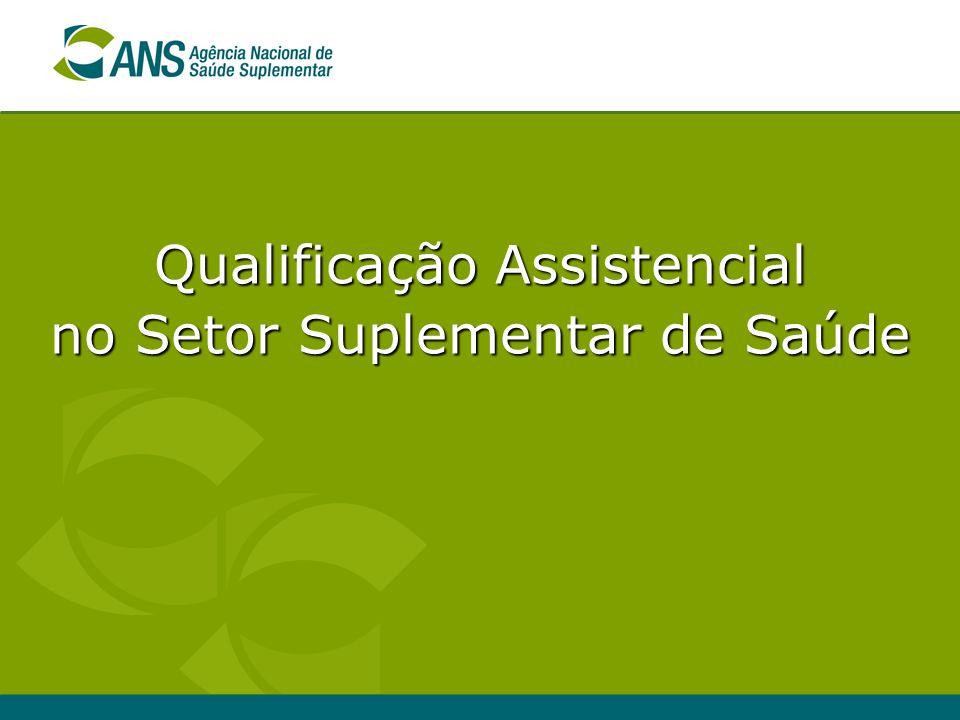 Qualificação Assistencial no Setor Suplementar de Saúde