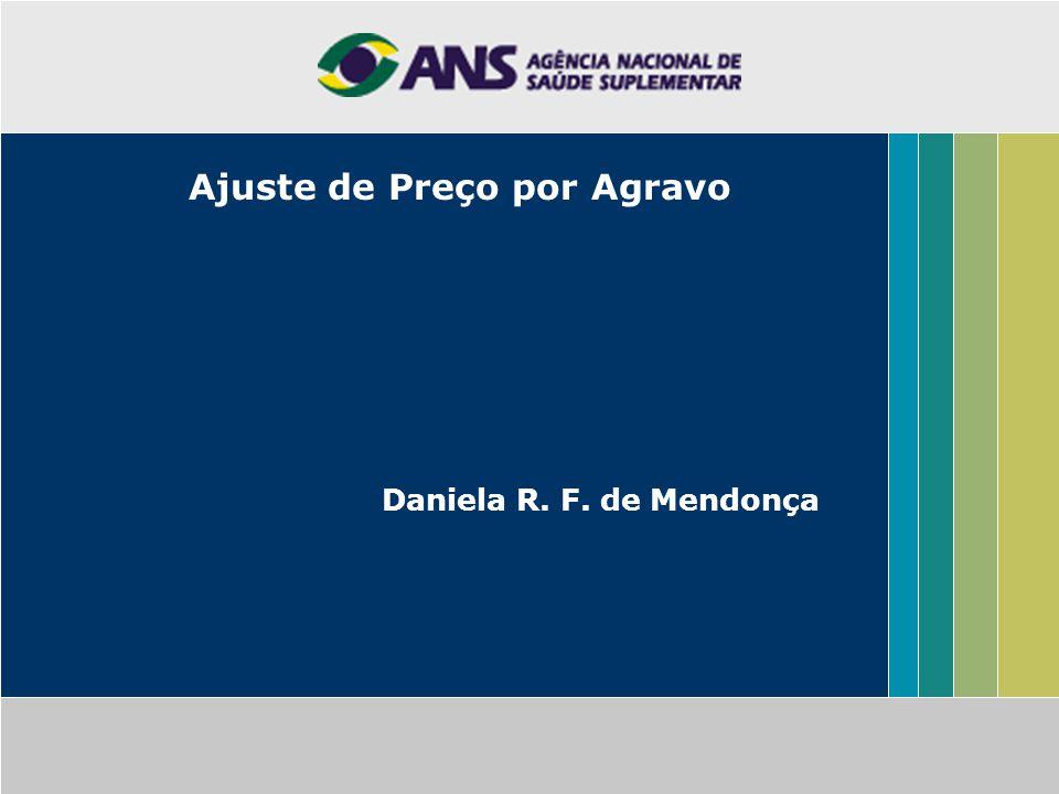 Ajuste de Preço por Agravo Daniela R. F. de Mendonça