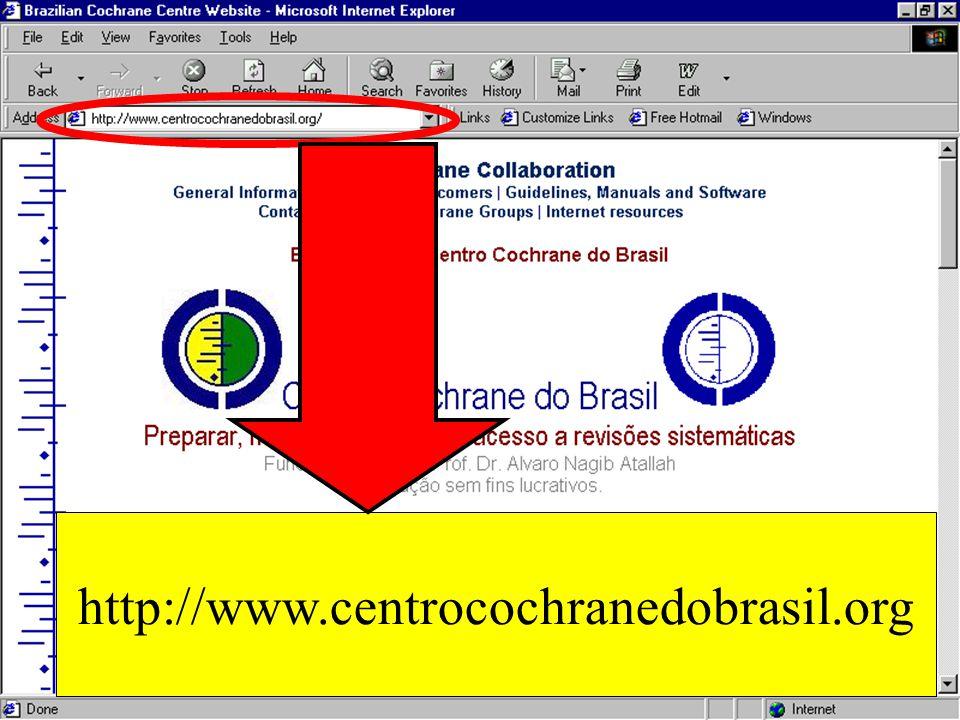 http://www.centrocochranedobrasil.org