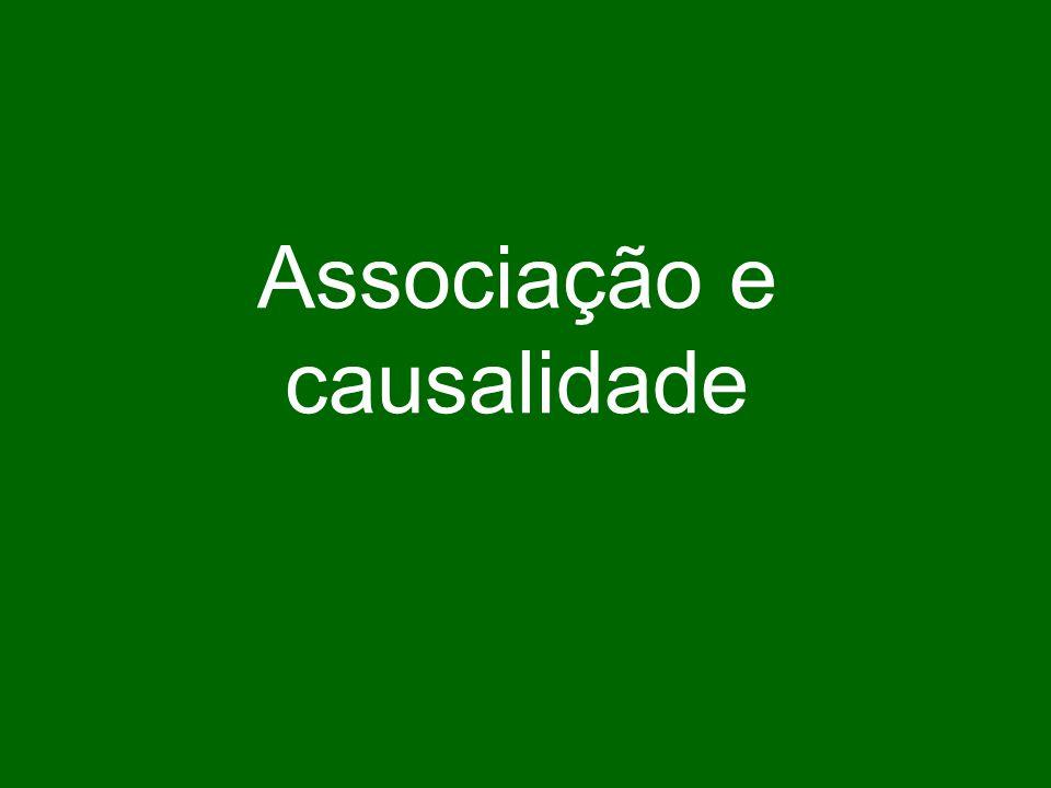 Associação e causalidade