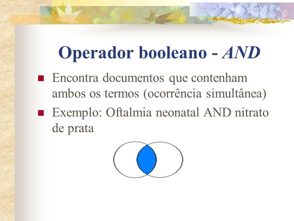 Mecanismos de Busca de Informação Operadores lógicos booleanos ou conectores; George Boole – matemático inglês; Recuperação da informação para relacio