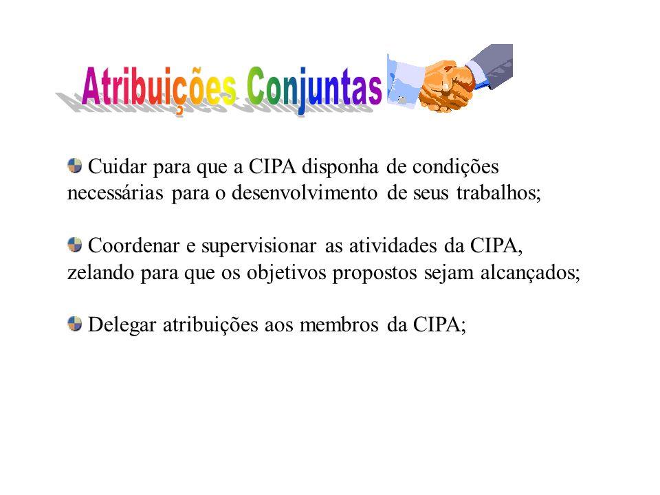 Acompanhar as reuniões da CIPA, e redigir as atas apresentando-as para aprovação e assinatura dos presentes; Preparar as correspondências; e outras qu