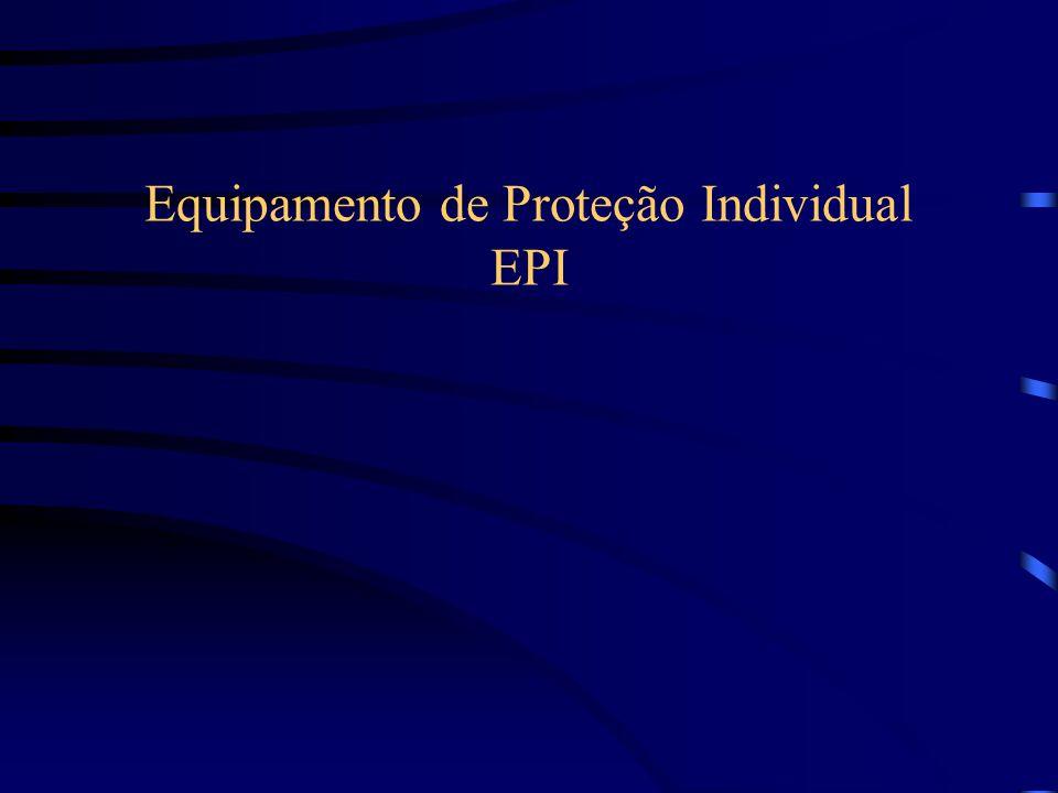 Equipamento de Proteção Individual EPI