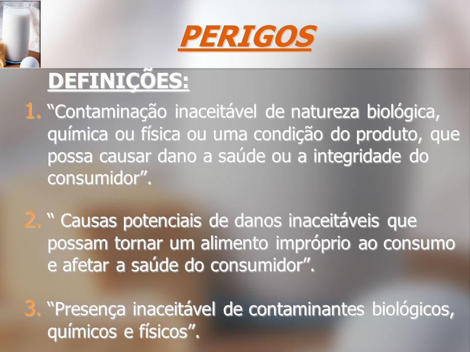 São bactérias patogênicas e suas toxinas, vírus, parasitas, etc..