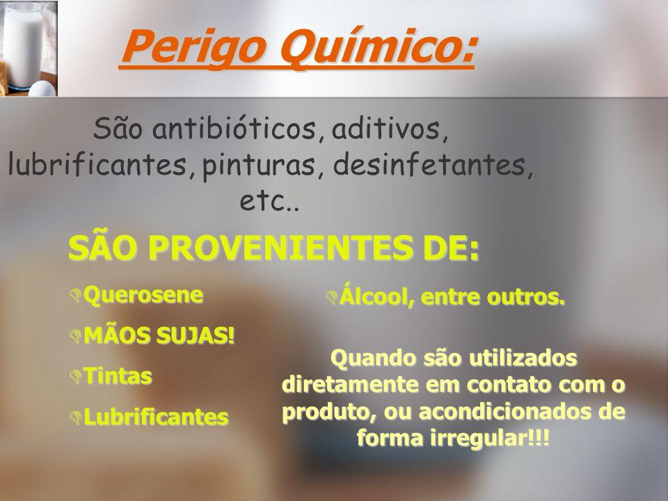 São antibióticos, aditivos, lubrificantes, pinturas, desinfetantes, etc..