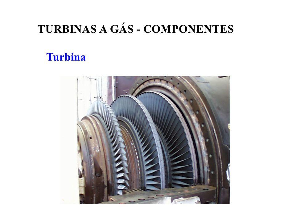 Turbina TURBINAS A GÁS - COMPONENTES