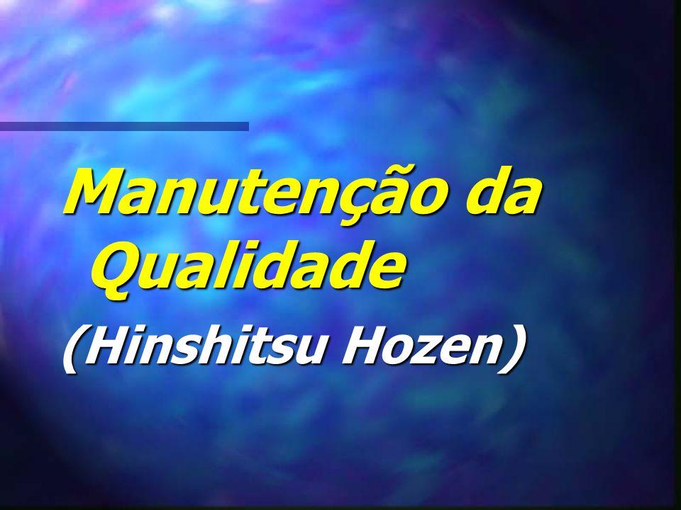 Manutenção da Qualidade (Hinshitsu Hozen)