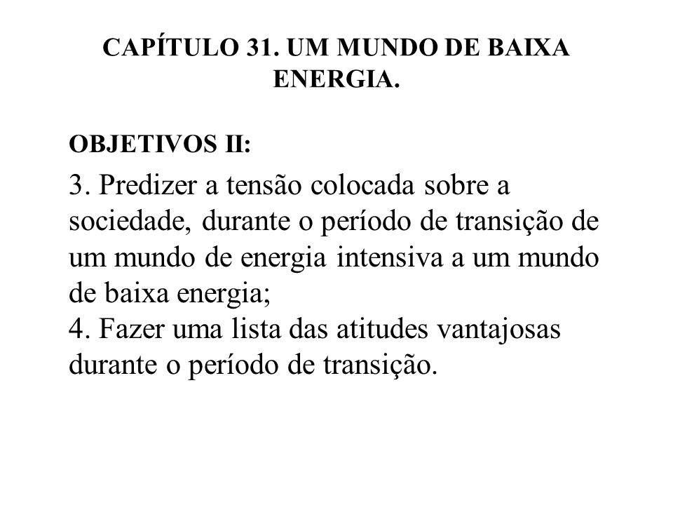 31.3 ASPECTOS QUE SE DETERIORÃO.