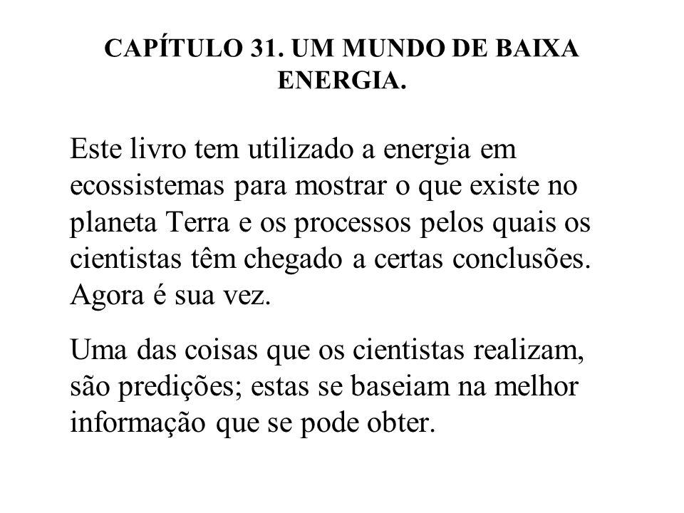 CAPÍTULO 31.UM MUNDO DE BAIXA ENERGIA.