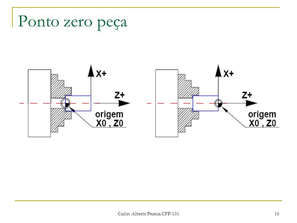 Carlos Alberto Pereira CFP-101 16 Ponto zero peça