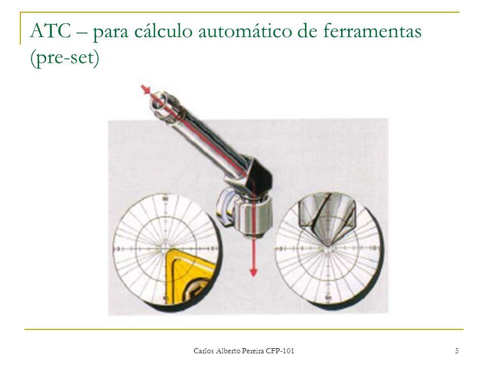 Carlos Alberto Pereira CFP-101 5 ATC – para cálculo automático de ferramentas (pre-set)