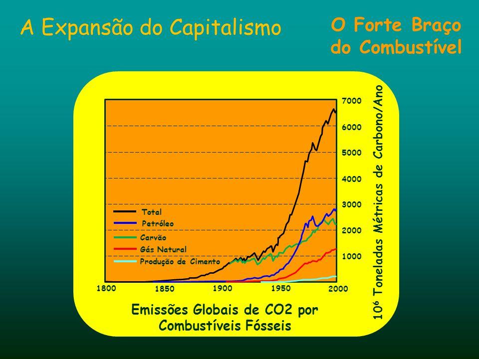 Revolução Industrial Efeitos da Revolução Industrial 1500 1000 2000 1900 2100 2 4 6 8 10 600 400 200 800 1000 População Mundial em Bilhões Concentraçã