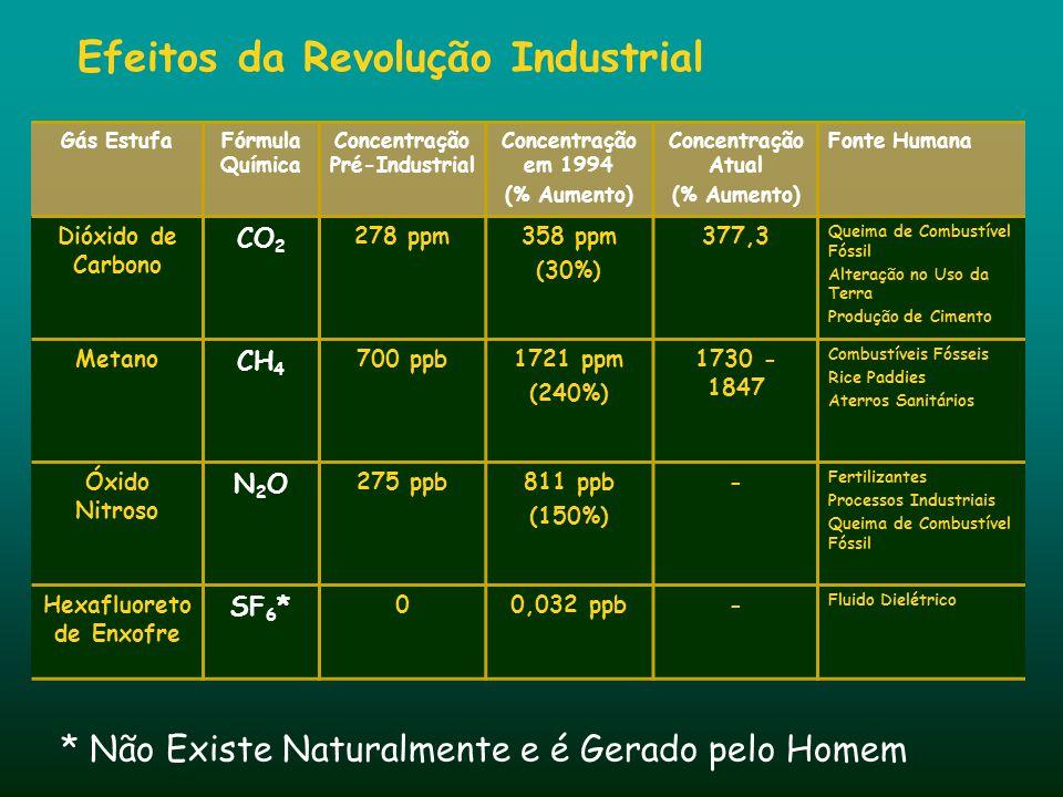 Revolução Industrial A mudança climática esta vinculada a industrialização Efeitos da Revolução Industrial