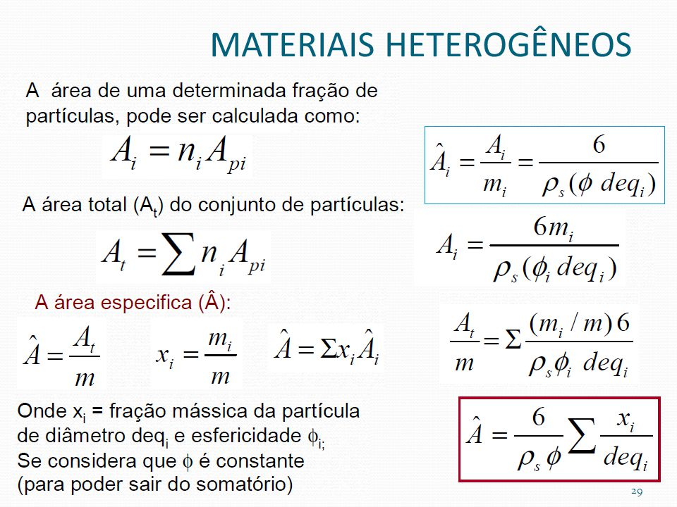 MATERIAIS HETEROGÊNEOS 29
