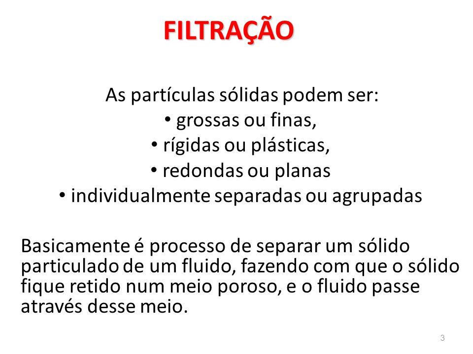 : Filtro de Cartuchos é necessária a vazão necessária no processo Para o dimensionamento desse tipo de filtro, é necessária a vazão necessária no processo.