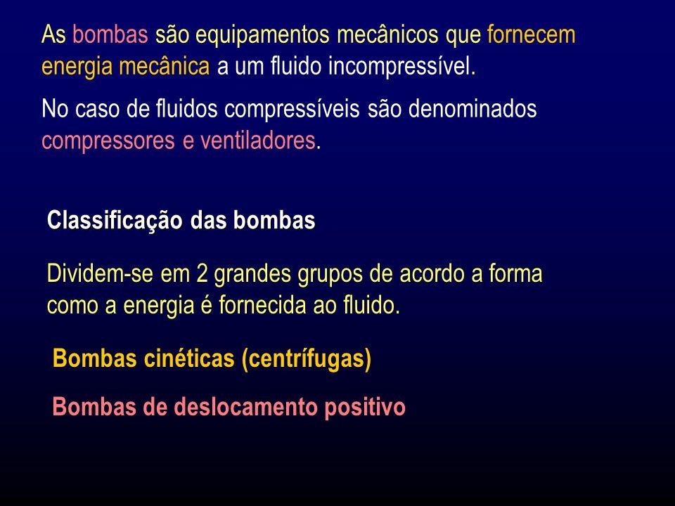 Para proteger a bomba, o fluido deve ser desviado por um by-pass, ou por meio da recirculação dentro da própria bomba (enviando o fluido da zona de alta pressão (descarga) para a de baixas pressões (sucção)).