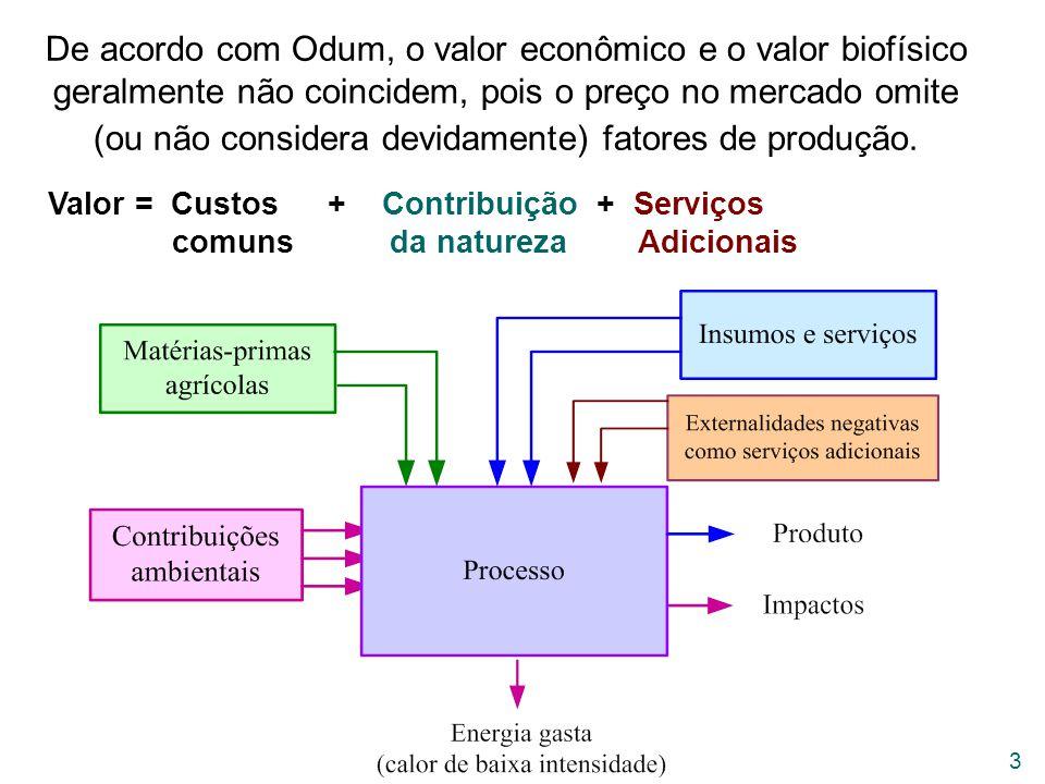 24 A produção de biomassa vegetal ocorre lentamente e o consumo se realiza como pulso rápido.