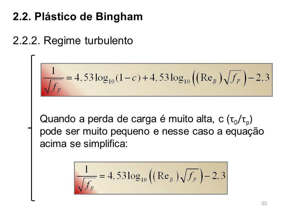 65 2.2.Plástico de Bingham 2.2.2.