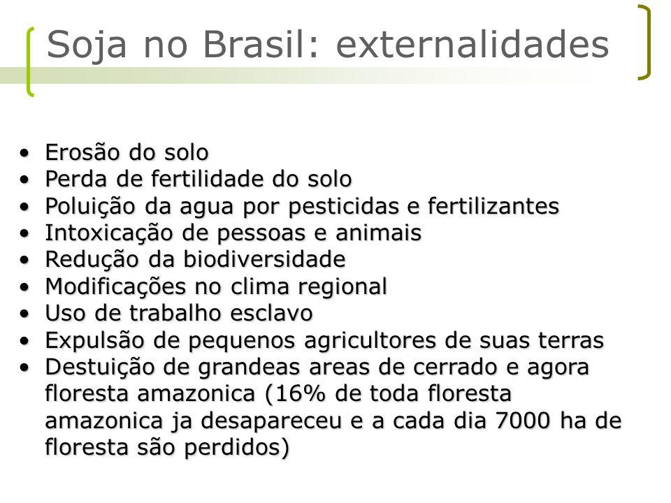 Global environmental support Soybean production Soy Macro escopo