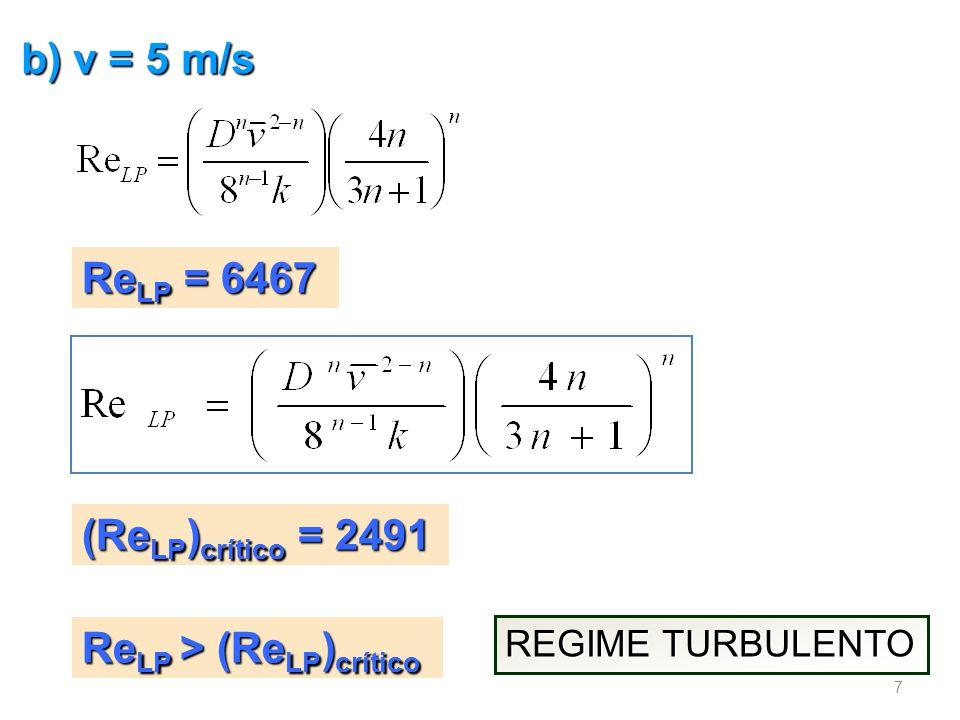 Diagrama de Dodge-Metzner f F = 0,0055 Re LP = 6467 n = 0,478 8