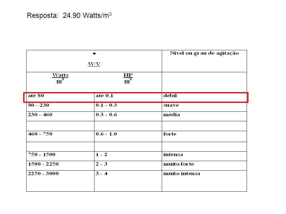  (kg/m 3 ) 0,121,2128001200 v (m/s) 12,5 - 15,55,5 - 7,73,2 - 4,01,6 - 2,00,79 - 1,0 B) Dimensione a tubulação Escoamento Turbulento Resposta: Deco= 0,0531 m Dn= 2 Di= 2,067 De = 2,375 # = 0,154
