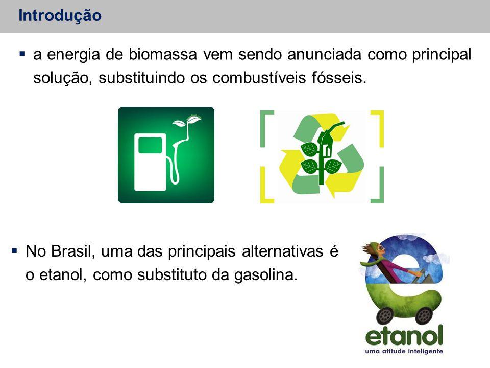  a energia de biomassa vem sendo anunciada como principal solução, substituindo os combustíveis fósseis.