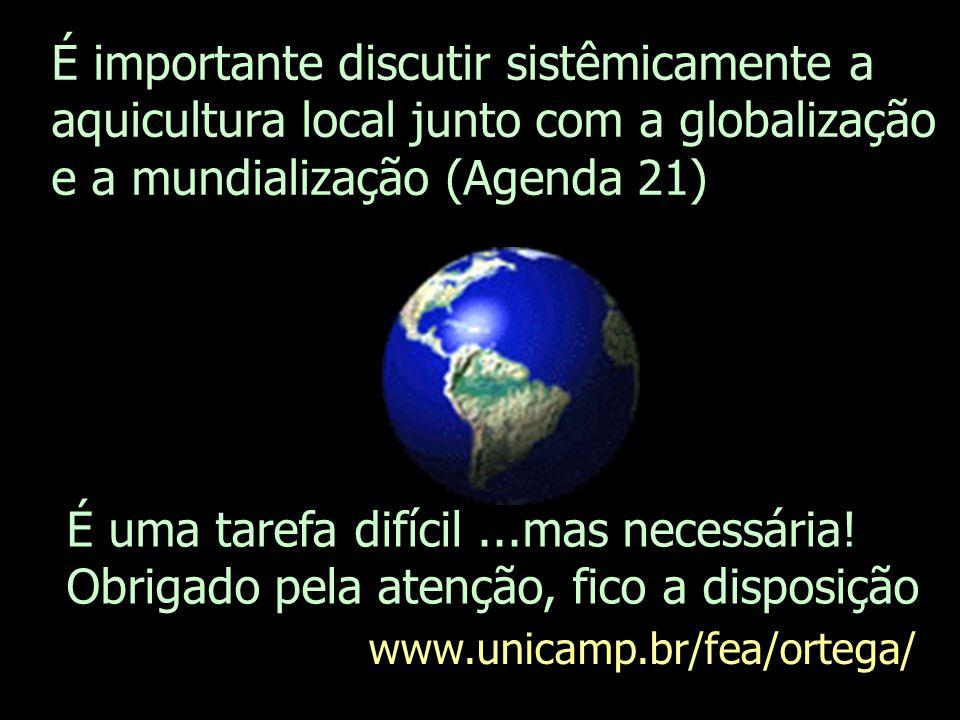 ECO-AQUICULTURA 1.Estudo do potencial produtivo de especies locais e de viveiros e opções de alimentação e densidade adequados.