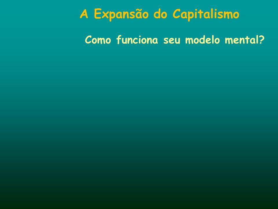 A Expansão do Capitalismo Como funciona seu modelo mental?