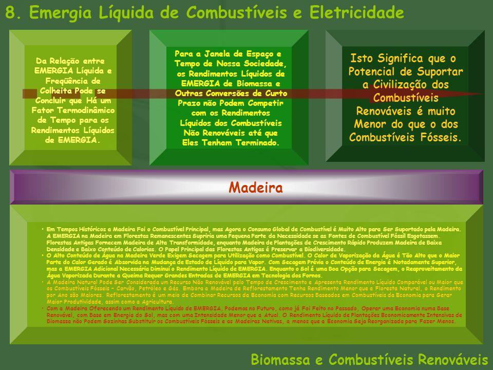 8. Emergia Líquida de Combustíveis e Eletricidade Biomassa e Combustíveis Renováveis Madeira Em Tempos Históricos a Madeira Foi o Combustível Principa
