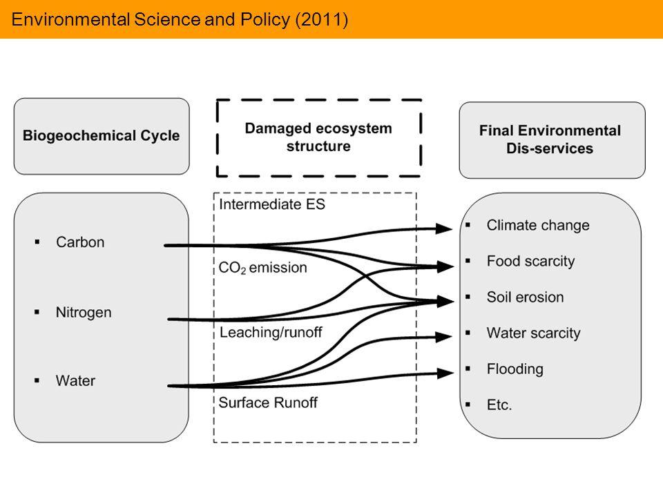  Cálculo do valor dos SE sob uma perspectiva global Emergia renovável que movimenta os materiais na Biosfera (Buenfil, 2001; Brown & Ulgiati, 2004) Importância da avaliação: Avaliação Emergética