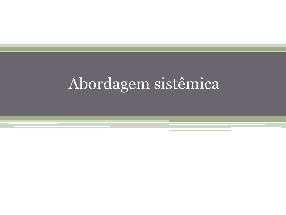 12 Abordagem sistêmica