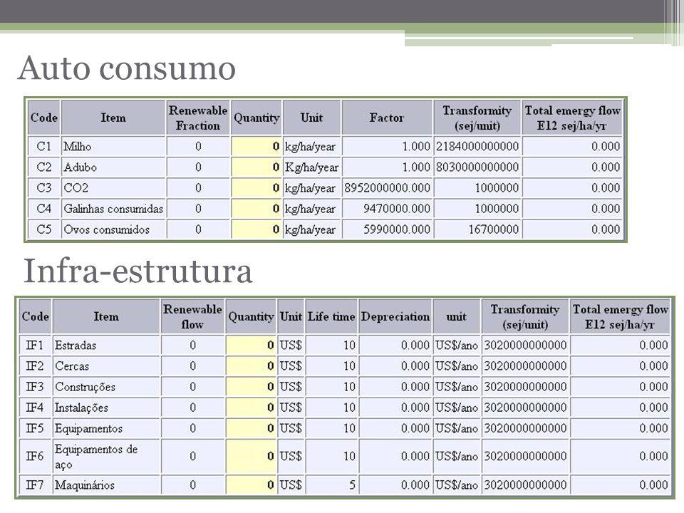 Infra-estrutura Auto consumo
