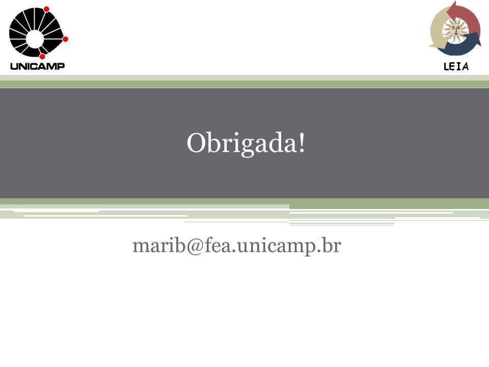 65 Obrigada! marib@fea.unicamp.br