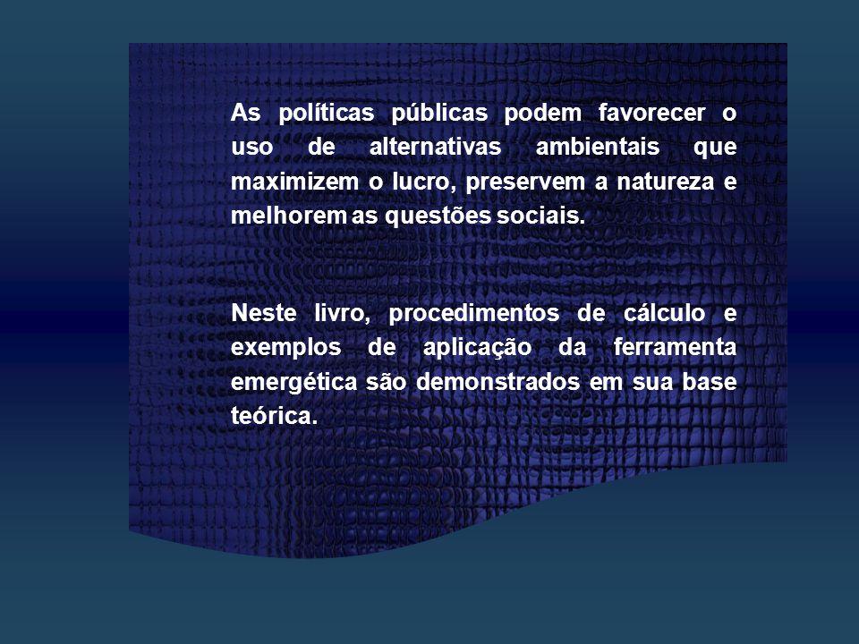 A TRADUÇAO AO PORTUGUES É EMPOTÊNCIA ; A potência ecossistêmica denomina-se Empotência.