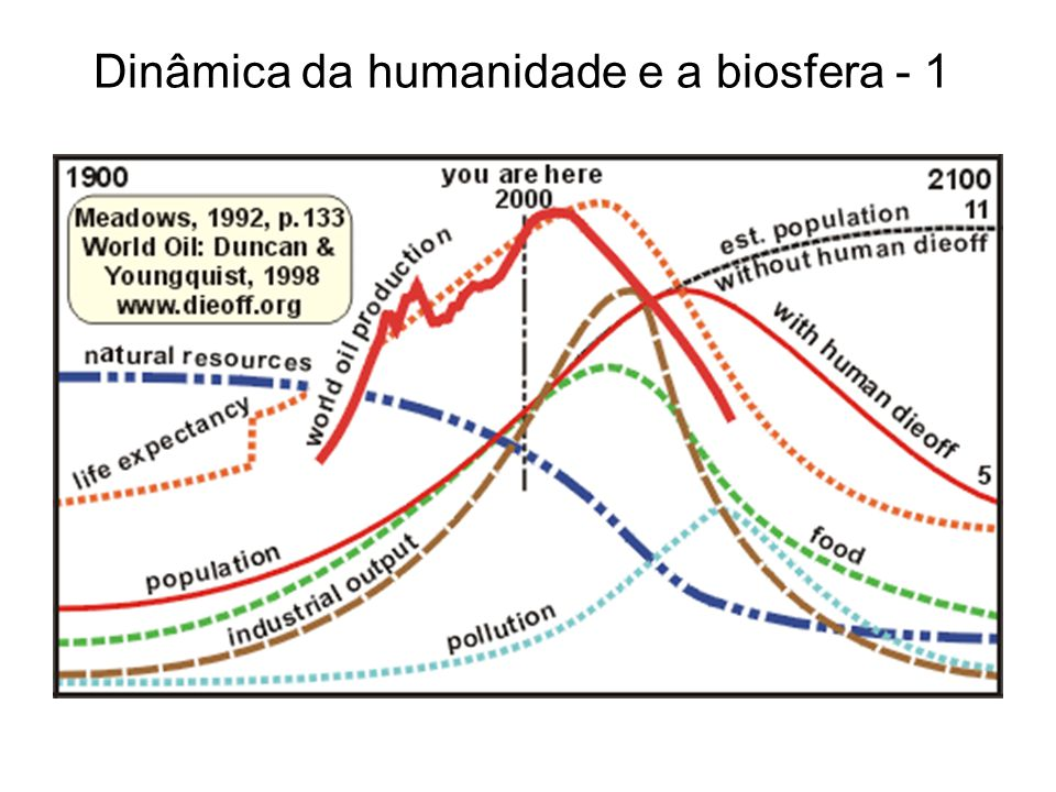 Dinâmica da humanidade e a biosfera - 1
