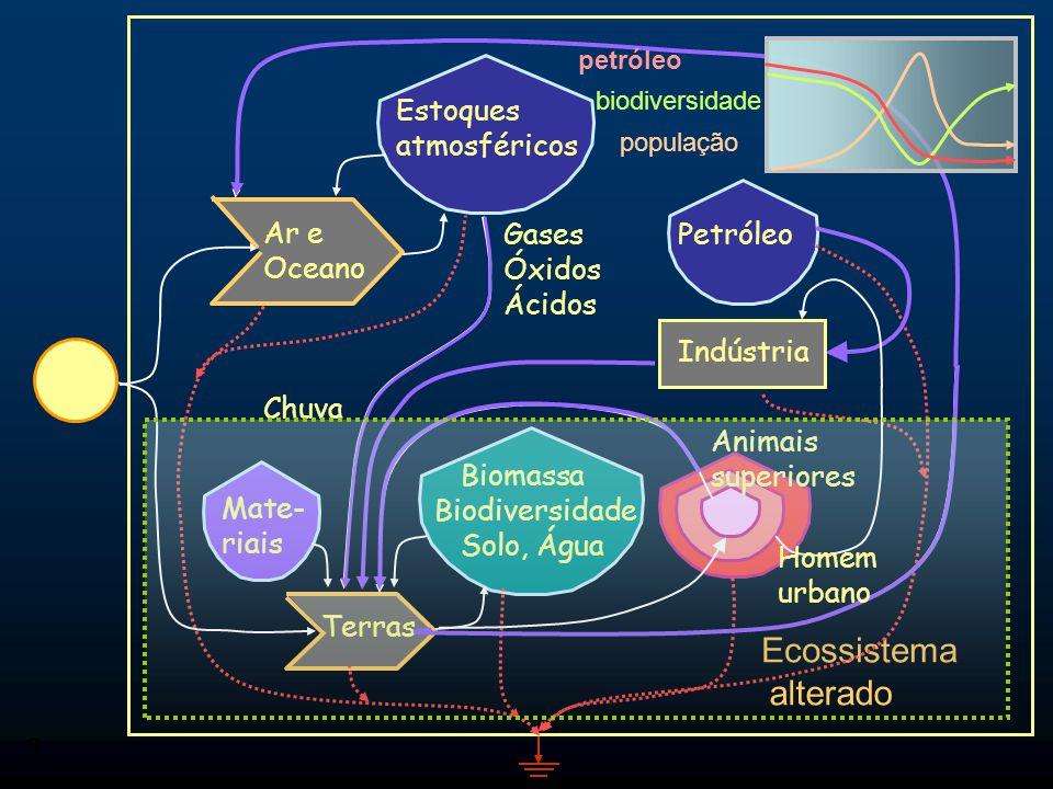 2 Fluxos de Energia Produtor Fonte de energia externa ilimitada Deposito ou estoque interno (limitado) Transação preço Sumidouro de Energia Fonte de e
