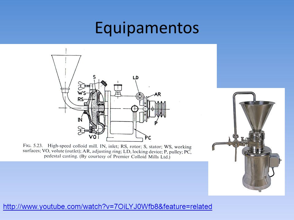 Equipamentos http://www.youtube.com/watch?v=7OiLYJ0Wfb8&feature=related
