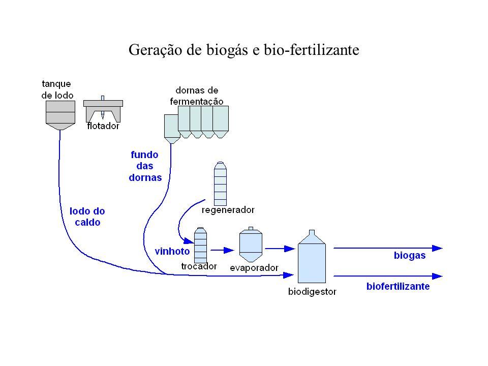 Geração de biogás e bio-fertilizante
