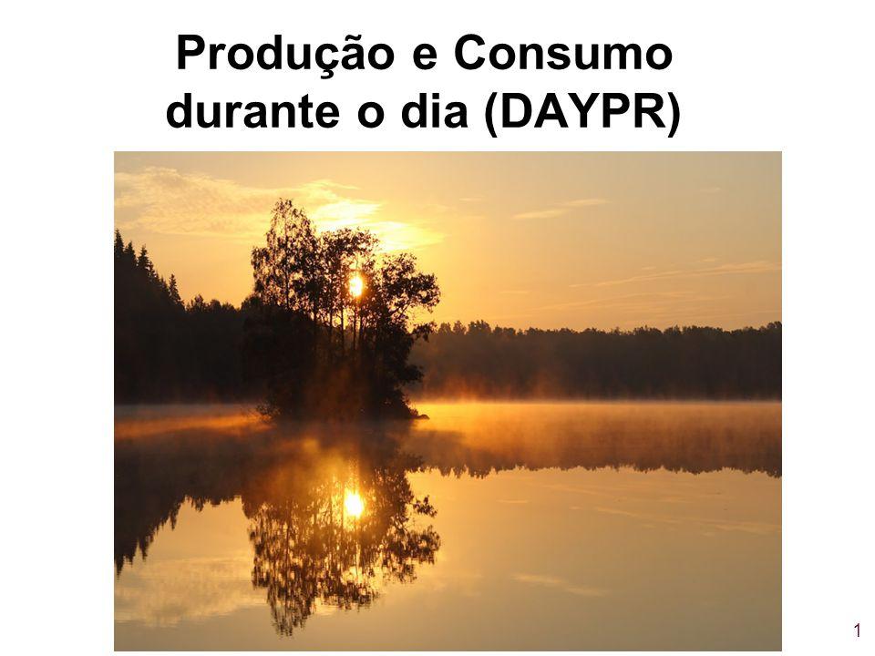 1 Produção e Consumo durante o dia (DAYPR)