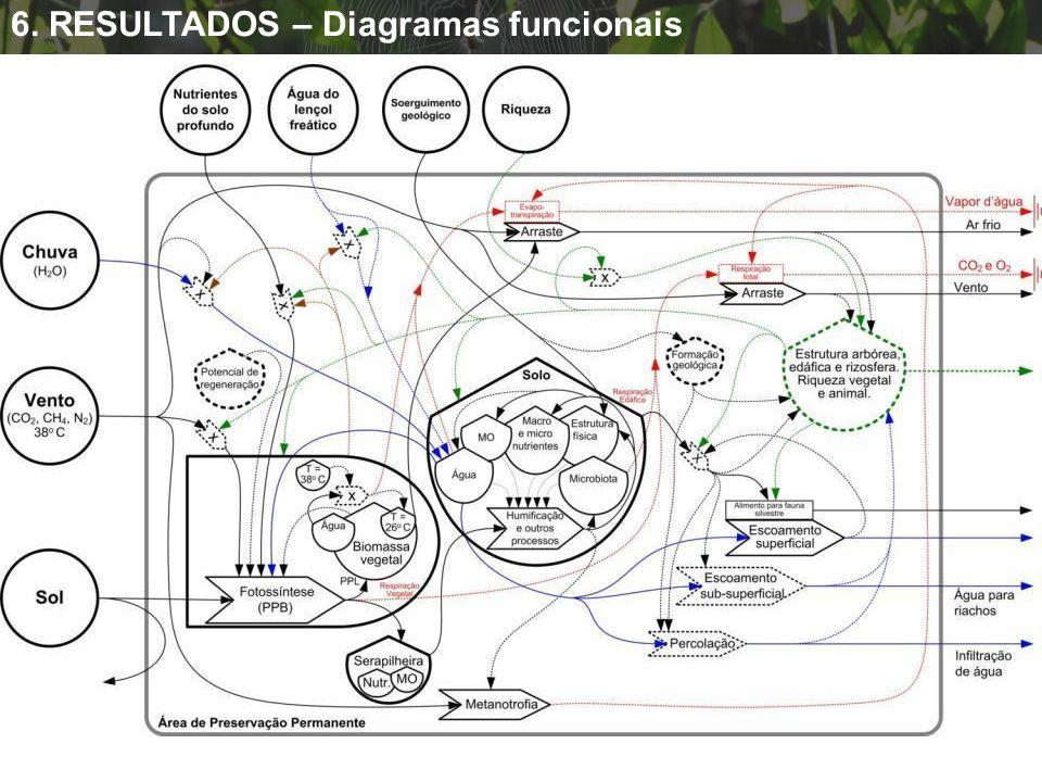 APP – 7anos e 200 anos 6. RESULTADOS – Diagramas funcionais