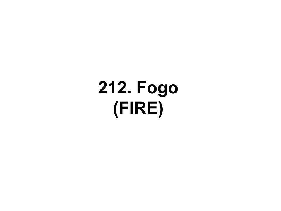 212. Fogo (FIRE)
