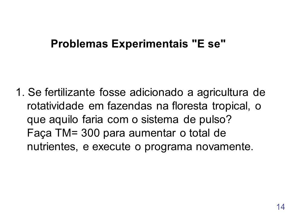 14 Problemas Experimentais