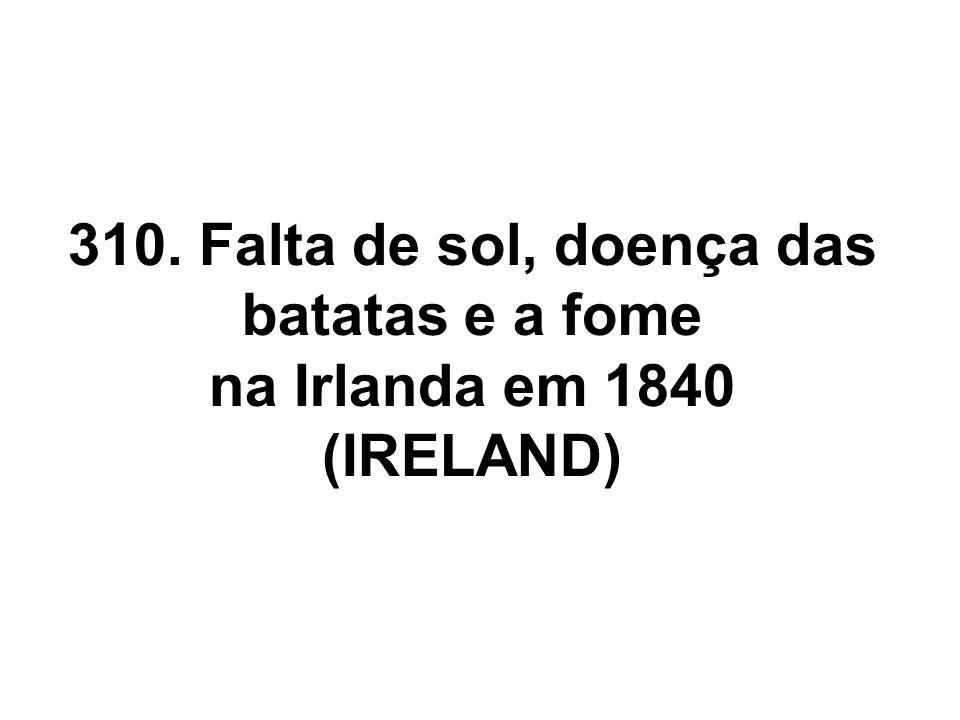 Este modelo para a Irlanda simula a doença da bata com eventos começando em 1842.