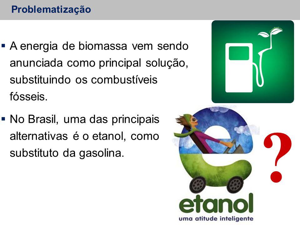  A energia de biomassa vem sendo anunciada como principal solução, substituindo os combustíveis fósseis.  No Brasil, uma das principais alternativas