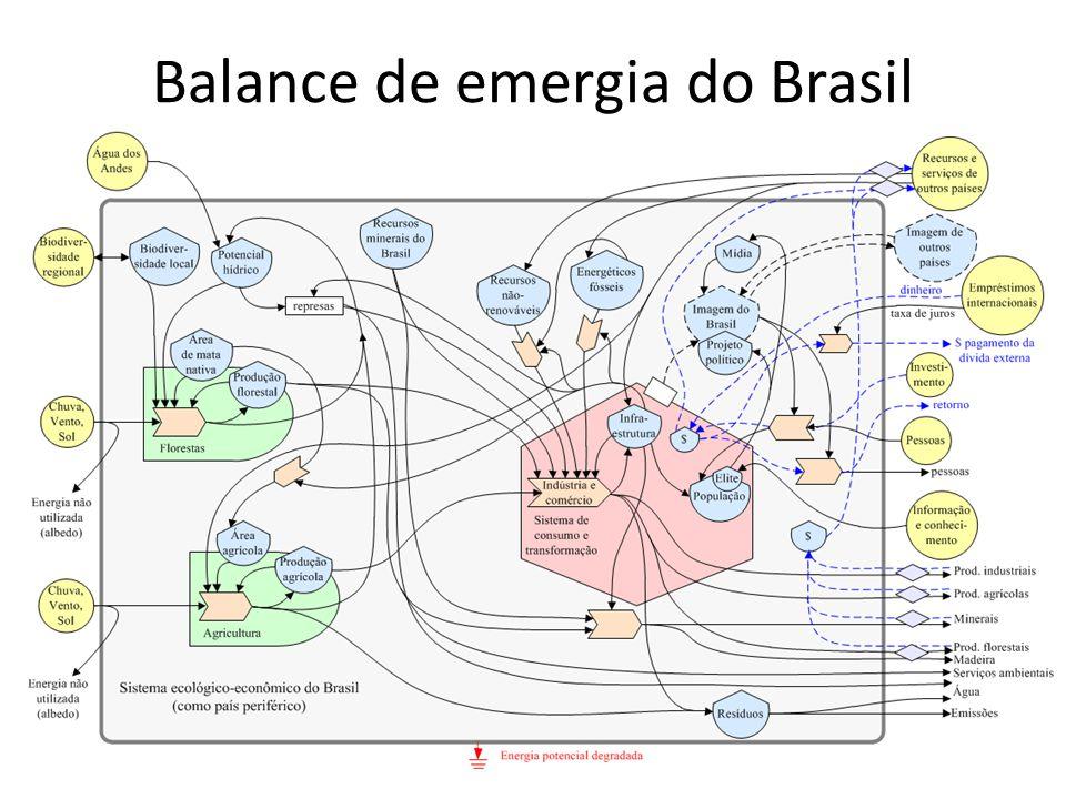 Balance de emergia do Brasil