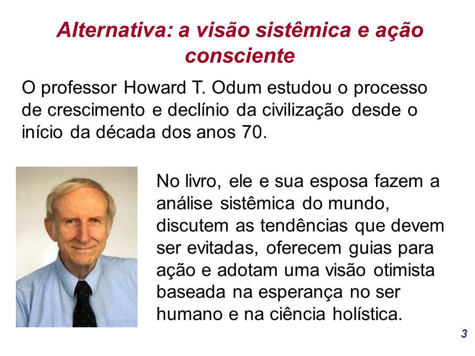 3 Alternativa: a visão sistêmica e ação consciente O professor Howard T.