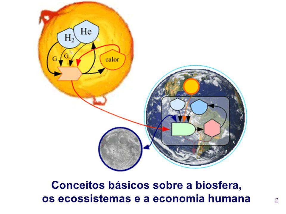 Conceitos básicos sobre a biosfera, os ecossistemas e a economia humana 2