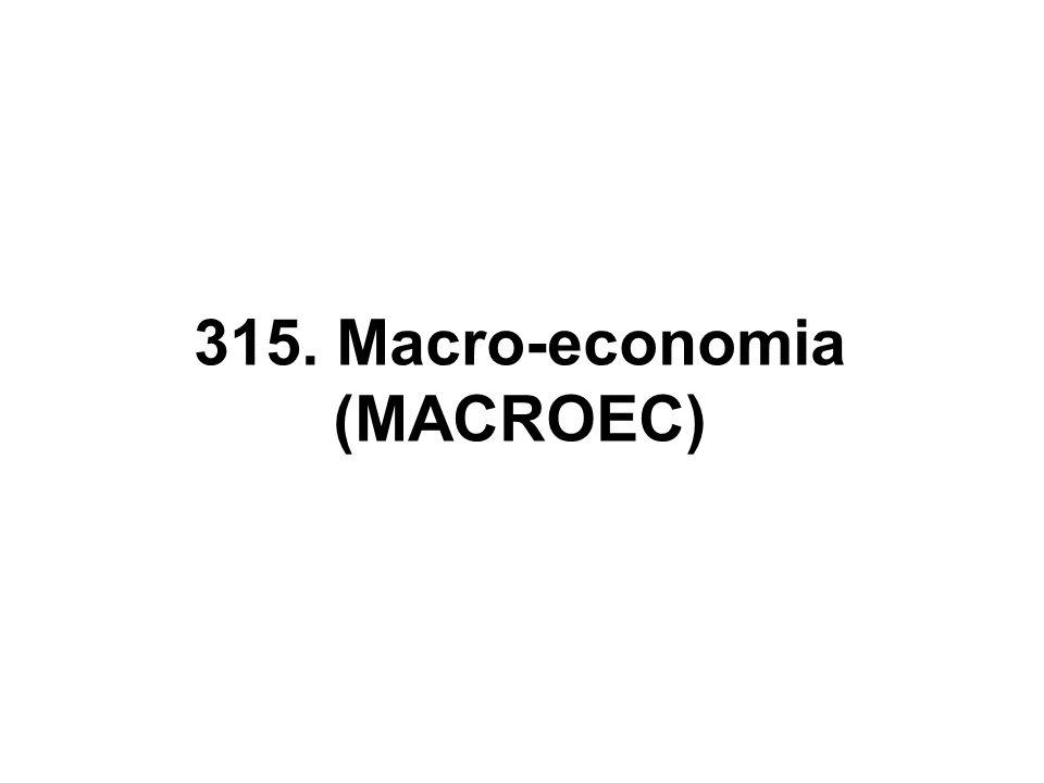 A economia em geral é o tema de macro- economia.
