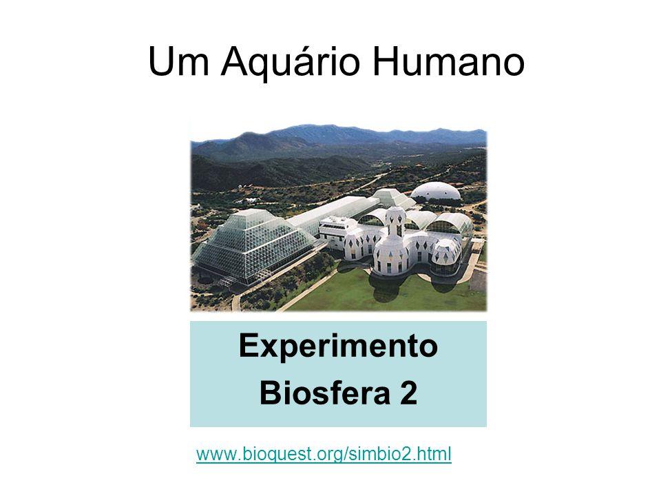 Um Aquário Humano Experimento Biosfera 2 www.bioquest.org/simbio2.html