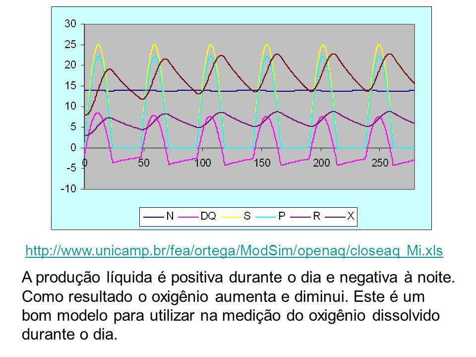 http://www.unicamp.br/fea/ortega/ModSim/openaq/closeaq Mi.xls A produção líquida é positiva durante o dia e negativa à noite.